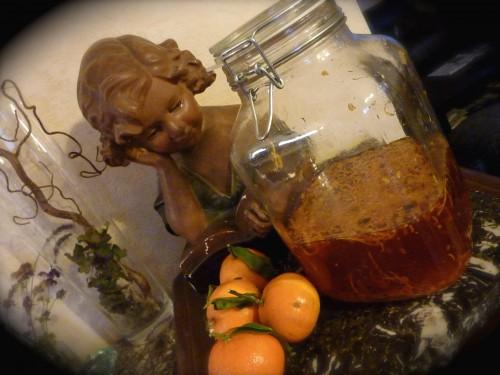 vin d'orange, noël, viry, hiver, fêtes,cuisine, recettes, Jura,