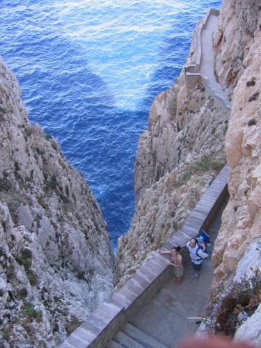 Caredda, Cau, Alghero, sardaigne,sarde,San Francesco, corail,capo caccia, escalier du chevreuil,grotte de Neptune,île de Foradada