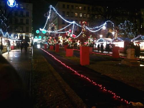 LYON,marché de Noël, hiver,viyr