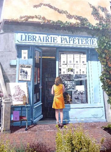 librairie, arbent, marchon, ain, livres, trompe l'oeil,editions Pont du Change, Jean-Jacques NUel, Christian Cottet-Emard
